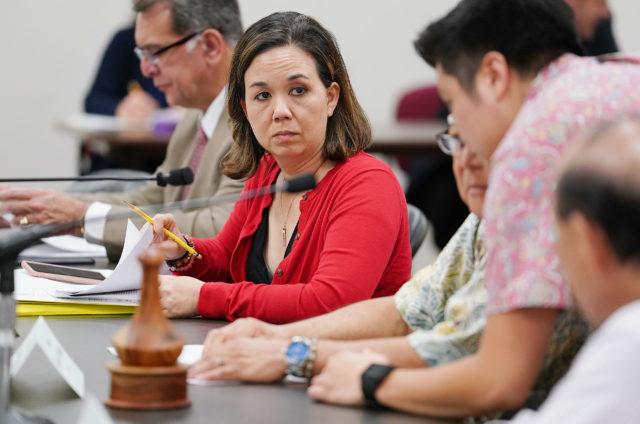 Senator Jill Tokuda Conference Committee mtg HPD pay.