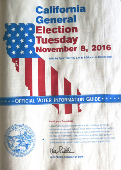 california election voter guide