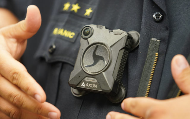 Honolulu Pollice Dept will start training officeres in August and hope to deploy these body cameras the 2nd week of August 2018. AXON HPD Police body camera1