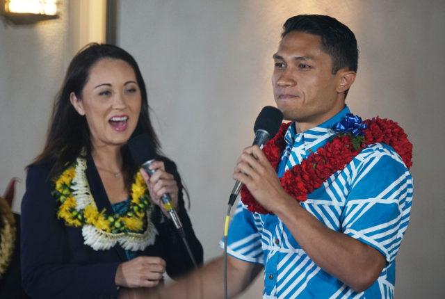 CD1 Rep Kaniela Ing debates with Beth Ann Fukumoto Kamehameha Schools.