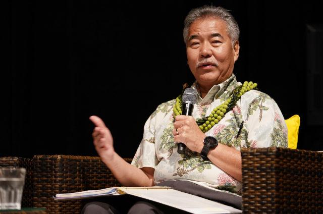 Hawaii Conservation Conference Gubernatorial Conference Gov David Ige.