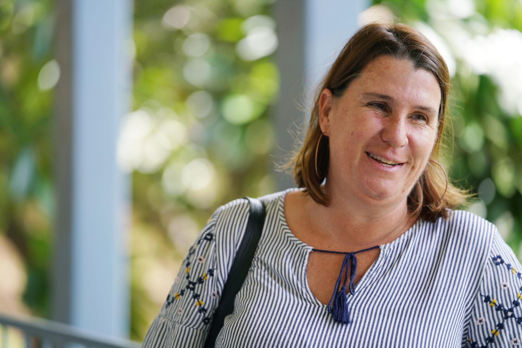 DOE Mentor Teacher Holly Jackson at Makaha Elementary School. 9 aug 2018