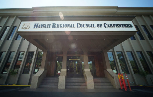 Hawaii Regional Council of Carpenters Houghtailing St.